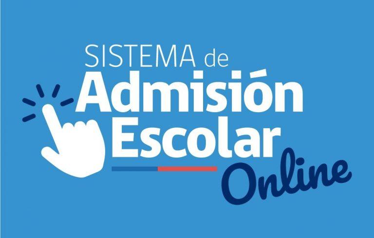 SISTEMA DE ADMISIÓN ESCOLAR ONLINE