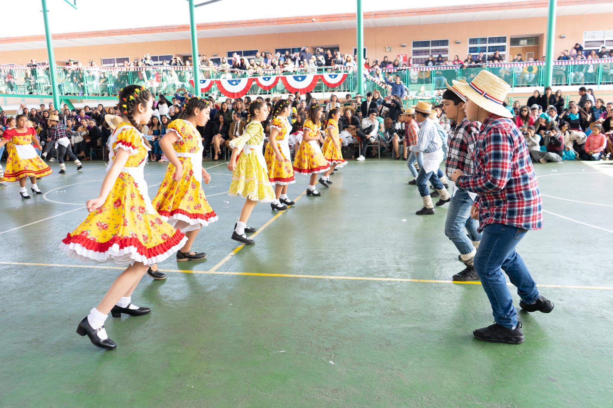 Acto Institucional  Fiestas Patrias.